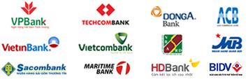 Argibank, Techcombank, Bidv, ACB,...