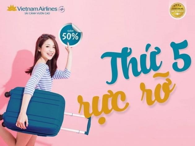 """Vietnam Airlines và Jetstar Pacific tiếp tục """"song kiếm hợp bích"""" trong """"Thứ 5 rực rỡ"""" tuần này"""